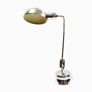 Lámpara Mid-Century de cromo diseñada por Charlotte Perriand para Jumo