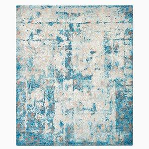 Tappeto Cover color cobalto di Knots Rugs