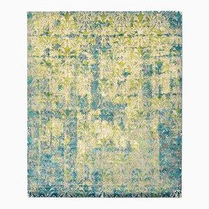 Alfombra Cover en verde ácido de Knots Rugs