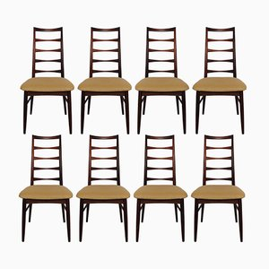 Chaises de Salon Modèle Lis par Niels Koefoed pour Hornslet Møbelfabrik, 1960s, Set de 8