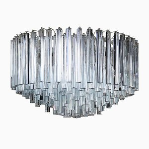 Italian Trilobo Chandelier from Venini
