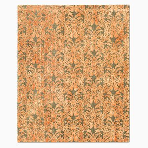 Tapis Royal Damask Olive & Orange de Knots Rugs
