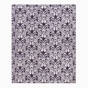 Royal Damask Teppich in Lila von Knots Rugs