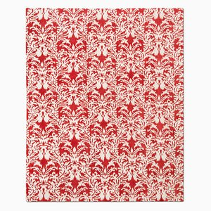 Tappeto Royal Damask rosso di Knots Rugs