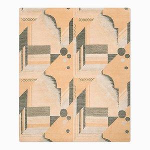 Art Deco Teppich in Melon von Knots Rugs