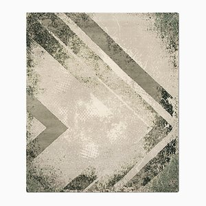 Table Chevron Olive de Knots Rugs