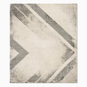 Tapis Chevron Naturel de Knots Rugs