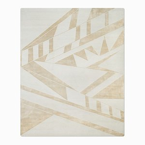 Deco Rug in Silver Blue from Knots Rugs