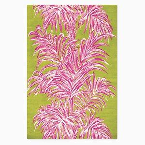 Palms Rug in Pink from Knots Rugs