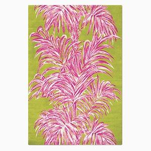 Palms Teppich in Rosa von Knots Rugs
