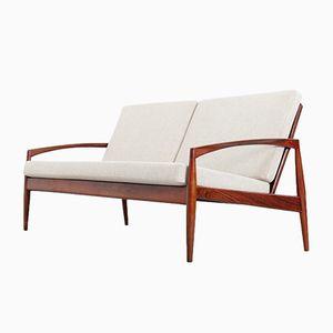 Vintage Modell 121 Paper Knife Sofa von Kai Kristiansen für Magnus Olesen,1960er