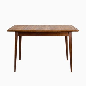 Vintage Teak Dining Table from Hainke Patenttische