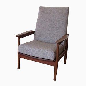 Butaca reclinable vintage de Georg Frejer para Guy Rogers