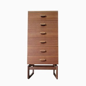 Vintage High Chest of Drawers by Roger Bennett for G-Plan