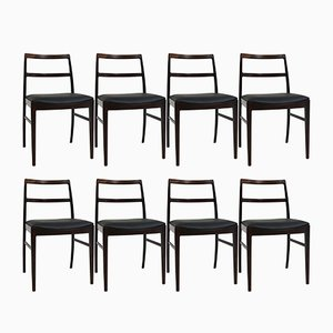Mid-Century Model 430 Dining Chairs by Arne Vodder for Sibast, Set of 8