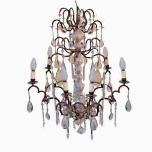 Rococo Style Chandelier, 1900s