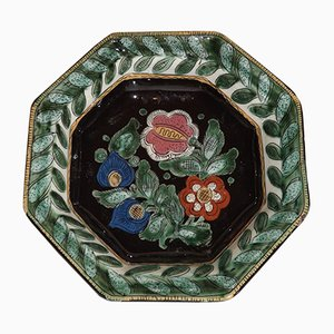 19th-Century Thun Ceramic Plate by Hannï Steffisburg