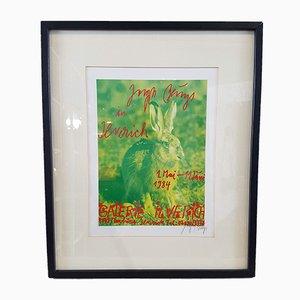 Vintage Galerie Ilverich Poster von Joseph Beuys