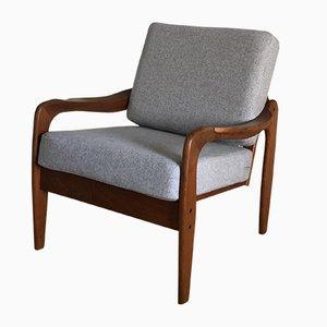 Mid-Century Sessel aus Teak von De Ster Gelderland, 1960er