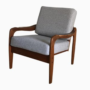 Mid-Century Teak Easy Chair from De Ster Gelderland, 1960s