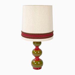Lampada da tavolo vintage in ceramica di Kaiser Leuchten