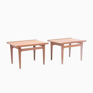 Tavolini di Finn Juhl per France & Daverkosen, set di 2