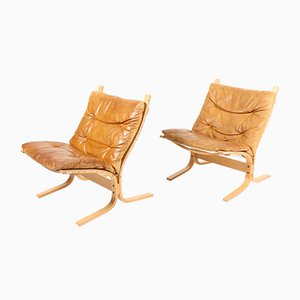 Lounge Chairs by Ingmar Relling for Westnofa, 1960s, Set of 2