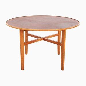 Tavolo da pranzo vintage di David Rosén per Nordiska Kompaniet, anni '50