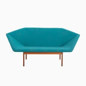 Prisma Sofa by Tove & Edvard Kindt-Larsen for Ludvig Pontoppidan, 1960s