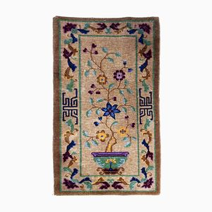 Handgearbeiteter chinesischer Art Deco Teppich, 1920er