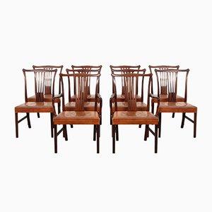 Chaises de Salle à Manger par Helge Vestergaard Jensen pour Peder Pedersen, 1940s, Set de 10