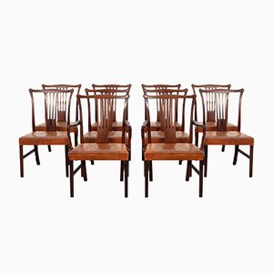 Dining Chairs by Helge Vestergaard Jensen for Peder Pedersen, 1940s, Set of 10