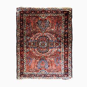 Handgearbeiteter nahöstlicher Sarouk Teppich, 1920er