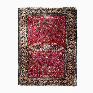 Alfombra Sarouk persa hecha a mano, años 20
