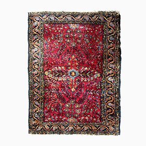 Persian Handmade Sarouk Rug, 1920s