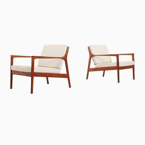 Vintage USA-75 Stühle von Folke Ohlsson für Dux, 1950er, 2er Set