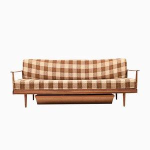 Sofá cama de Walter Knoll para Knoll Antimott, años 50