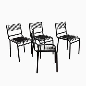 Sandow Stühle von René Herbst, 1980er, 4er Set