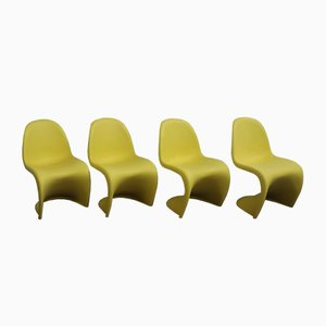 Vintage Chairs by Verner Panton for Vitra, Set of 4