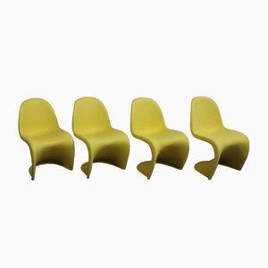 Vintage Stühle von Verner Panton für Vitra, 4er Set