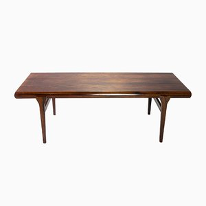 Extendable Rosewood Coffee Table by Johannes Andersen for CFC Silkeborg, 1960s