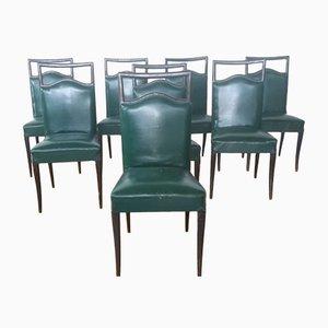 Chaises Vintage de Dassi, Set de 8