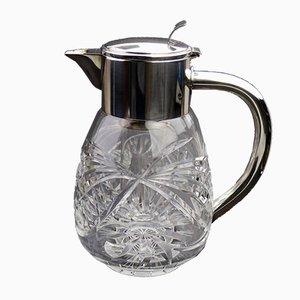 Krug aus geschliffenem Glas von WMF, 1930er