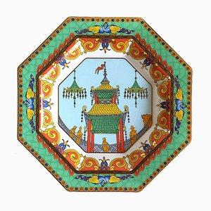 Cuenco Le Voyage De Marco Polo de Versace para Rosenthal, 1993