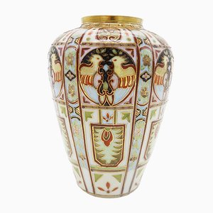 Vaso Art Deco dipinto a mano di Liberty & Co, anni '20