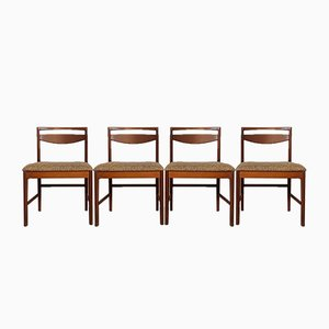Mid-Century Teak Dining Chairs from A.H McIntosh, Set of 4