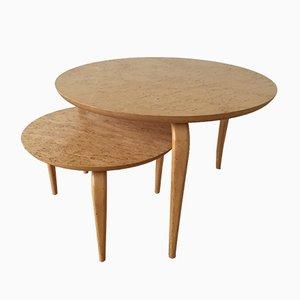 Tavolini da caffè Annika vintage di Bruno Mathsson per Dux, set di 2