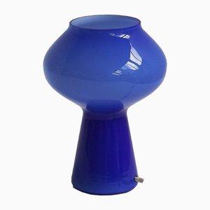 Petite Lampe de Bureau Mushroom Vintage par Massimo Vignelli pour Venini