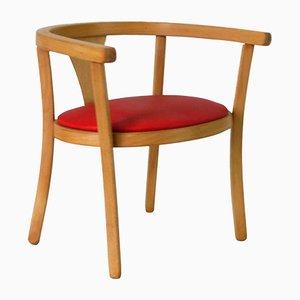 Chaise d'Enfant Rouge de Baumann, 1960s