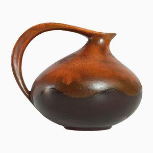 Brocca nr. 313 in ceramica di Kurt Tschörner per Ruscha, anni '60